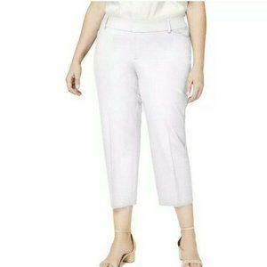 Charter Club Women's Plus Slim Cropped Pant 28W